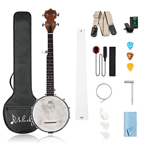 28 Inch Banjo Remo Drumhead Beginner Kit With Gig Bag