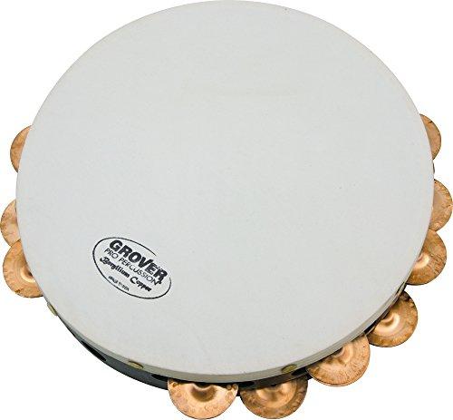 """Grover Pro Projection Plus 10"""" Tambourine Beryllium Copper"""