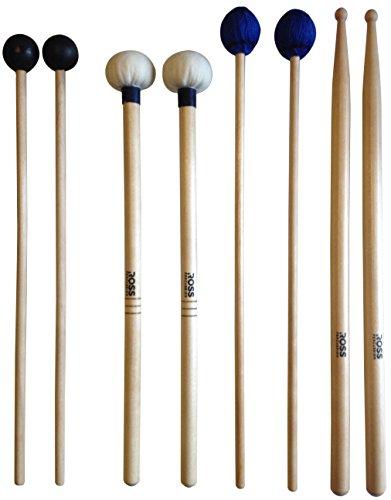 ROSS Percussion Intermediate Drum Mallet Set