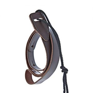 D'Addario Leather Mandolin Strap Brown