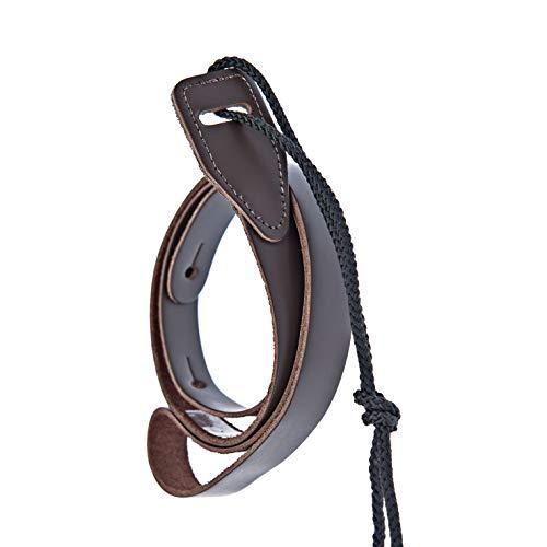 D'Addario Leather Mandolin Strap Brown