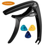 Quick-Change Capo for Acoustic and Electric Guitar, Ukulele, Bass