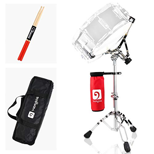 Snare Drum Stand, Lightweight Double Braced Adjustable Height