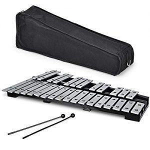 Giantex Foldable Glockenspiel Xylophone 30 Note