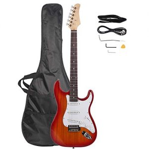 Rosewood Fingerboard Electric Guitar with Gigbag