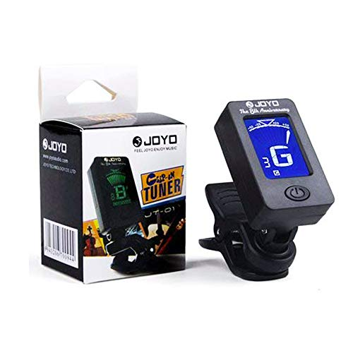 Digital Electronic Tuner Acoustics and LCD Display for Guitar Bass