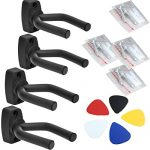 Dtown Guitar Wall Mount,Ukulele Guitar Hanger,Set of 4 Pack