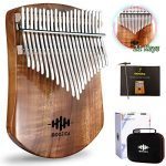 Single Solid Wood Board Professional Kalimba Thumb Piano Marimba