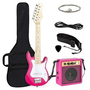 30in Kids Electric Guitar Starter Kit w/ 5W Amplifier