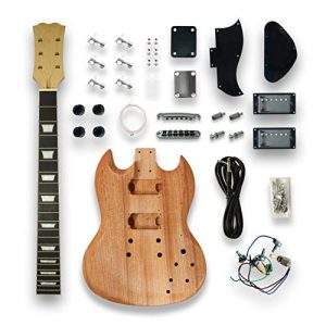 DIY SG Style Electric Guitar Kits Mapel