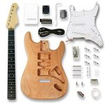 Electric Guitar Kits for ST Electric Guitar, Okoume wood Body