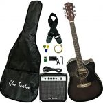 Glen Burton Acoustic Electric Cutaway Guitar