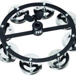 Meinl Cymbals Mountable Hihat Tambourine with Steel Jingles