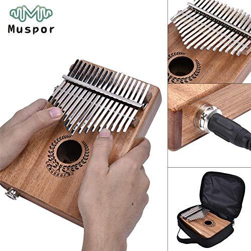 Portable Thumb Piano Solid Finger Piano Mbira/Marimba