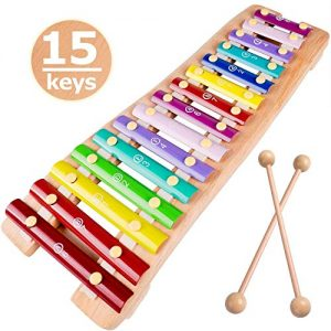 Wooden Xylophone for Kids Glockenspiel