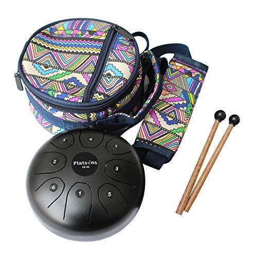 Steel Tongue Drum Steel Drums Flatsons Handpan Standard C Key 8 Notes