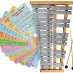 Glockenspiel 25 Note Chromatic Metal Xylophone