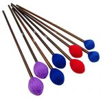 Marimba Mallets with Maple Handles and Different Hard Head