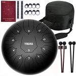 Yinama Steel Tongue Drum Percussion Instrument 11 Notes 10 inches