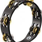 Meinl Percussion CTA2M-BK Compact Tambourine