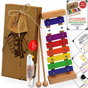 Kids Xylophone That Produces Harmonious Sound with Eagle Whistle