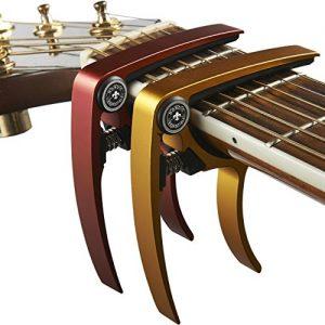 Guitar Capo (2 Pack) for Guitars, Ukulele, Banjo, Mandolin
