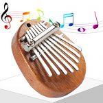 Portable Mini 8 Key Thumb Piano Marimba Mbira Kisanji