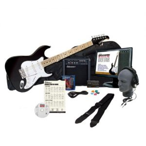 Complete Electric Guitar Package with Instructional Software