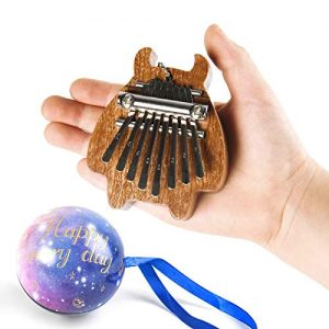 Mini Kalimba Finger Thumb Piano Marimba Sanza Pendant