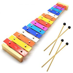 Wooden Toddler Xylophone Glockenspiel For Kids