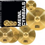 "Meinl Cymbal Set Box Pack with 14"" Hihats, 20"" Ride, 16"" Crash"
