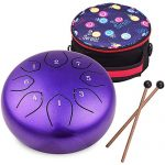 Percussion Instrument C-Key Handpan Drum with Bag