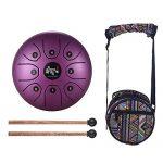 Mini 8-Tone Steel Tongue Drum C Key Percussion