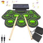 Electronic Drum Set - KONIX Bluetooth Electric Midi Drum Set Kit