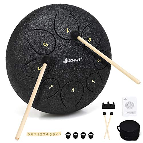 8 Notes Steel Pan Drum w/Drum Hammer