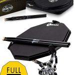 Responsive Drum Practice Pad Comes with Premium Drum Sticks
