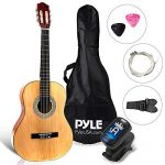 Classical Acoustic Guitar-3/4 Junior Size 6 String Linden Wood