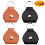 Guitar Pick Case keychain Pick Leather Holder Cases Bag