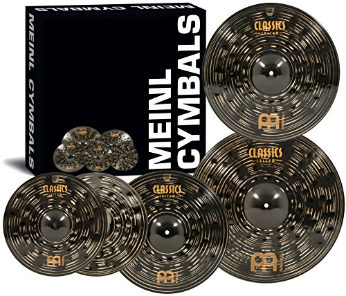 "Meinl Cymbal Set Box Pack with 14"" Hihats"