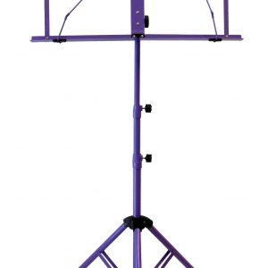 Audio2000'S AST4442PL Portable Sheet Music Stand - Purple
