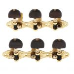 6 Pieces Vintage Connected Guitar String Tuning Pegs Tuner Machine Heads Knobs Tuning Keys for Acoustic or Classical Guitar 2