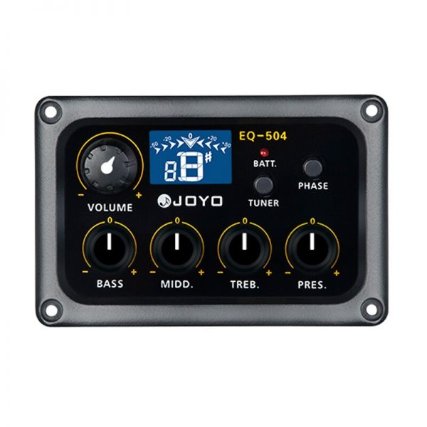 JOYO EQ-504 Digital 4 Band EQ Electric Acoustic Guitar Pickup