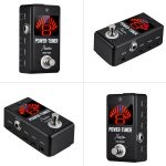 Rowin Lt-9 Guitar Tuner + Effect Power Supply With Tuning Short-Circuit Protection Function 8 Isolated Dc 9V Outputs Us Plus 3