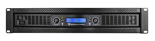Rockville RPA16 10000 Watt Peak / 3000w RMS 2 Channel Power Amplifier Pro/DJ Amp