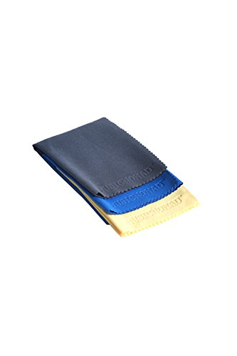 Music Nomad MN203 Microfiber Polishing Cloth, 3 Pack