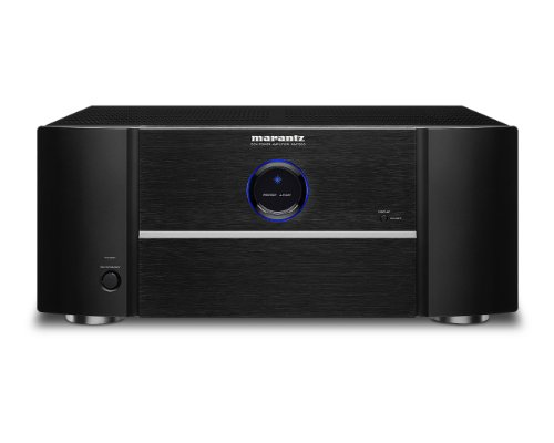 Marantz MM7055 Power Amplifier – 5-Channel Amp for Ultimate Home Theater & Audio Systems   High-Power Capability, Quality & Design   Gold-Plated Terminals