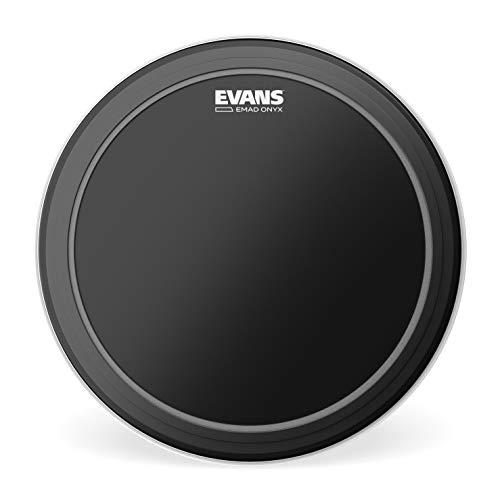 Evans EMAD Onyx Bass Drum Head, 20 Inch