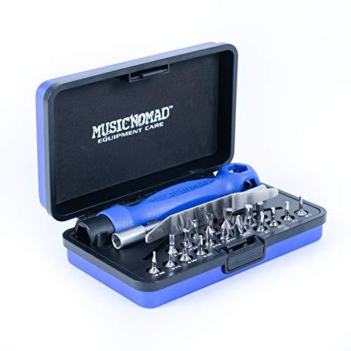 MusicNomad Premium 26 PC. Guitar Tech Screwdriver & Wrench Set MN229