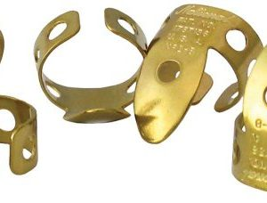 National NP-2B-4PK Finger Picks - Brass - 4 Pack