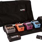 Gator Cases Bone Molded Polyethylene Guitar Pedal Board with Lightweight Carry Bag; USA Made, 23.75″ x 10.25″ x 2″ (G-BONE)